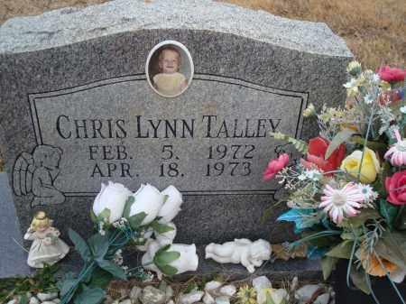 TALLEY, CHRIS LYNN - Yell County, Arkansas | CHRIS LYNN TALLEY - Arkansas Gravestone Photos