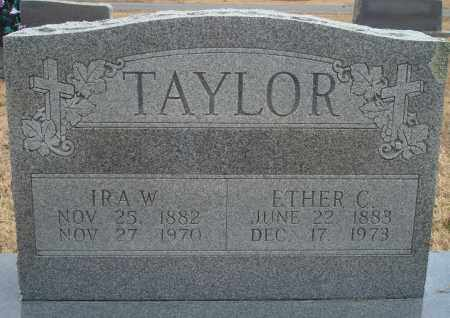 TAYLOR, IRA W - Yell County, Arkansas | IRA W TAYLOR - Arkansas Gravestone Photos