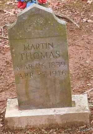 THOMAS, MARTIN - Yell County, Arkansas | MARTIN THOMAS - Arkansas Gravestone Photos