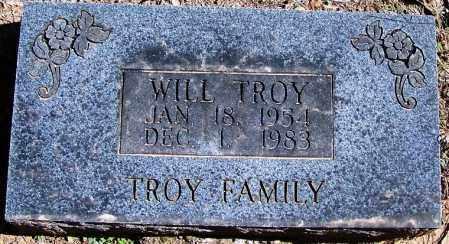 TROY, WILL - Yell County, Arkansas | WILL TROY - Arkansas Gravestone Photos