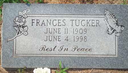 TUCKER, FRANCES - Yell County, Arkansas   FRANCES TUCKER - Arkansas Gravestone Photos