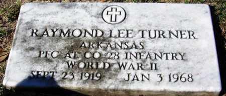 TURNER (VETERAN WWII), RAYMOND LEE - Yell County, Arkansas   RAYMOND LEE TURNER (VETERAN WWII) - Arkansas Gravestone Photos