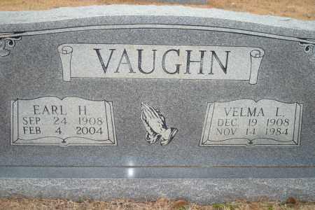 VAUGHN, EARL H. - Yell County, Arkansas   EARL H. VAUGHN - Arkansas Gravestone Photos