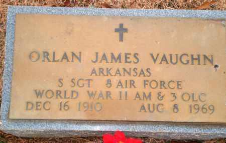 VAUGHN (VETERAN WWII), ORLAN JAMES - Yell County, Arkansas   ORLAN JAMES VAUGHN (VETERAN WWII) - Arkansas Gravestone Photos
