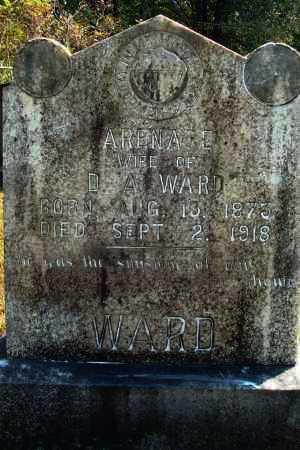 WARD, ARENA E - Yell County, Arkansas | ARENA E WARD - Arkansas Gravestone Photos