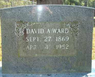 WARD, DAVID A. - Yell County, Arkansas | DAVID A. WARD - Arkansas Gravestone Photos