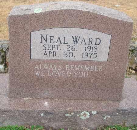 WARD, NEAL - Yell County, Arkansas | NEAL WARD - Arkansas Gravestone Photos