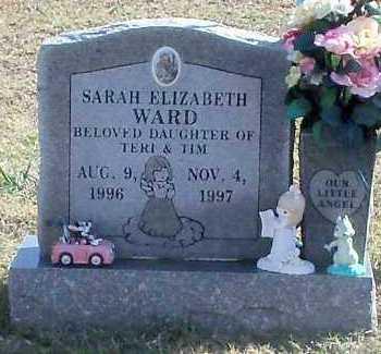 WARD, SARAH ELIZABETH - Yell County, Arkansas | SARAH ELIZABETH WARD - Arkansas Gravestone Photos