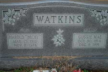 WATKINS, GUSSIE MAE - Yell County, Arkansas | GUSSIE MAE WATKINS - Arkansas Gravestone Photos