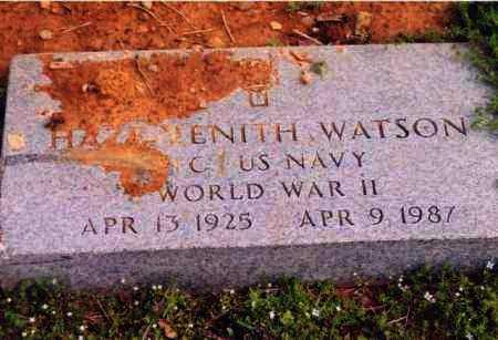 WATSON (VETERAN WWII), HAZE ZENITH - Yell County, Arkansas   HAZE ZENITH WATSON (VETERAN WWII) - Arkansas Gravestone Photos
