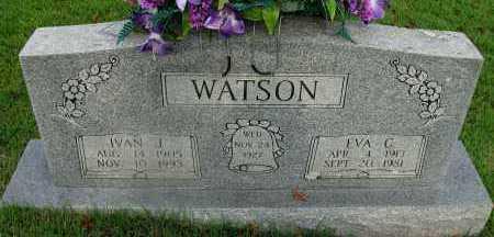 WATSON, EVA C - Yell County, Arkansas | EVA C WATSON - Arkansas Gravestone Photos