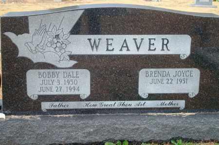 WEAVER, BOBBY DALE - Yell County, Arkansas | BOBBY DALE WEAVER - Arkansas Gravestone Photos