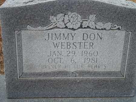 WEBSTER, JIMMY DON - Yell County, Arkansas | JIMMY DON WEBSTER - Arkansas Gravestone Photos