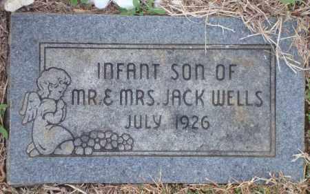 WELLS, INFANT SON - Yell County, Arkansas | INFANT SON WELLS - Arkansas Gravestone Photos
