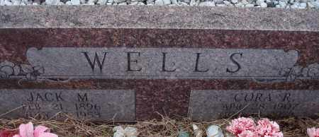 WELLS, CORA - Yell County, Arkansas | CORA WELLS - Arkansas Gravestone Photos