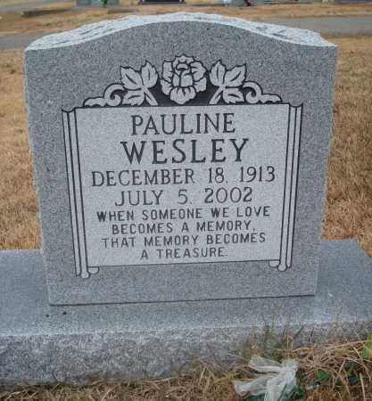 WESLEY, PAULINE - Yell County, Arkansas   PAULINE WESLEY - Arkansas Gravestone Photos