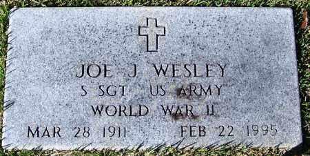 WESLEY (VETERAN WWII), JOE J - Yell County, Arkansas   JOE J WESLEY (VETERAN WWII) - Arkansas Gravestone Photos