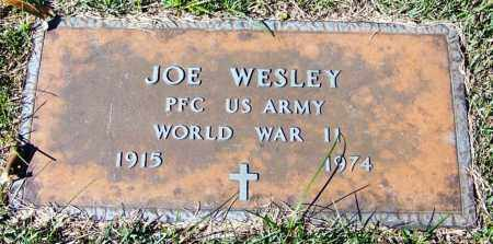 WESLEY (VETERAN WWII), JOE - Yell County, Arkansas   JOE WESLEY (VETERAN WWII) - Arkansas Gravestone Photos