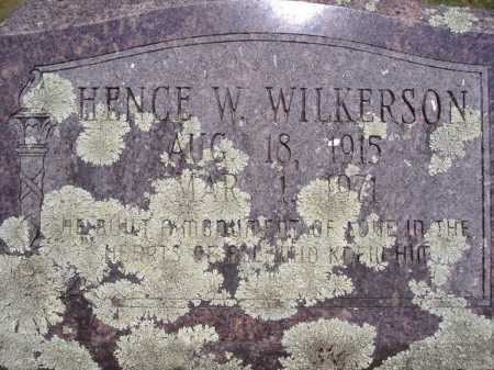 WILKERSON (VETERAN WWII), HENCE W - Yell County, Arkansas | HENCE W WILKERSON (VETERAN WWII) - Arkansas Gravestone Photos