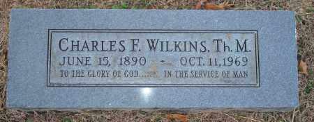 WILKINS, TH.M., CHARLES F. - Yell County, Arkansas | CHARLES F. WILKINS, TH.M. - Arkansas Gravestone Photos