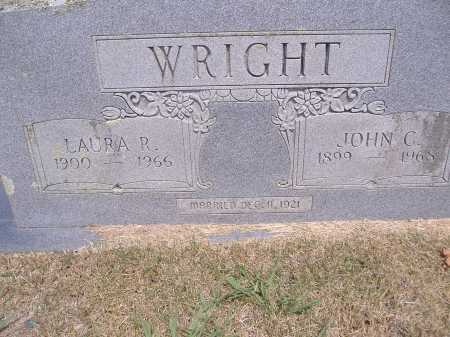 WRIGHT, JOHN C - Yell County, Arkansas | JOHN C WRIGHT - Arkansas Gravestone Photos