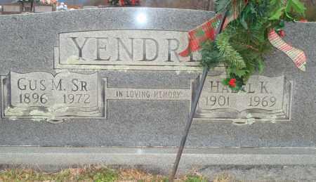 YENDREK, SR, GUS MARVIN - Yell County, Arkansas   GUS MARVIN YENDREK, SR - Arkansas Gravestone Photos