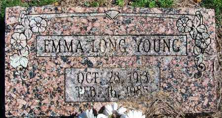 LONG YOUNG, EMMA - Yell County, Arkansas   EMMA LONG YOUNG - Arkansas Gravestone Photos