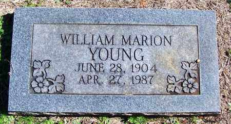 YOUNG, WILLIAM MARION - Yell County, Arkansas | WILLIAM MARION YOUNG - Arkansas Gravestone Photos