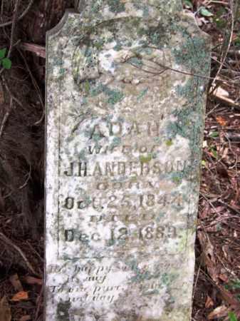 ANDERSON, ADAH - Arkansas County, Arkansas   ADAH ANDERSON - Arkansas Gravestone Photos