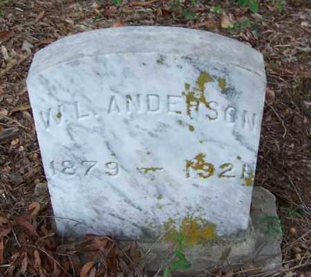 ANDERSON, W L - Arkansas County, Arkansas | W L ANDERSON - Arkansas Gravestone Photos