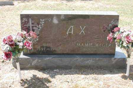 AX, ELNORA MAMIE - Arkansas County, Arkansas | ELNORA MAMIE AX - Arkansas Gravestone Photos