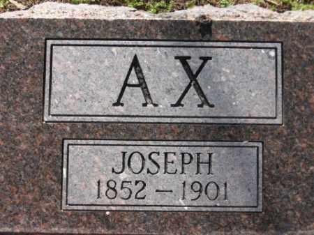 AX, JOSEPH - Arkansas County, Arkansas | JOSEPH AX - Arkansas Gravestone Photos