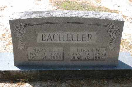 LEE BACHELLER, MARY - Arkansas County, Arkansas | MARY LEE BACHELLER - Arkansas Gravestone Photos