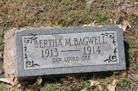 BAGWELL, BERTHA M - Arkansas County, Arkansas | BERTHA M BAGWELL - Arkansas Gravestone Photos