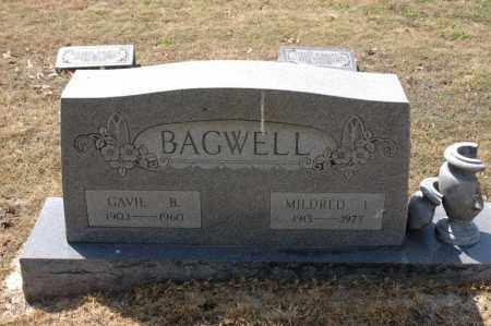 BAGWELL, GAVIE B - Arkansas County, Arkansas | GAVIE B BAGWELL - Arkansas Gravestone Photos