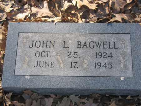 BAGWELL, JOHN L - Arkansas County, Arkansas   JOHN L BAGWELL - Arkansas Gravestone Photos