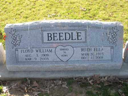 BEEDLE, FLOYD WILLIAM - Arkansas County, Arkansas | FLOYD WILLIAM BEEDLE - Arkansas Gravestone Photos
