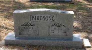 BIRDSONG, HUBERT H - Arkansas County, Arkansas | HUBERT H BIRDSONG - Arkansas Gravestone Photos