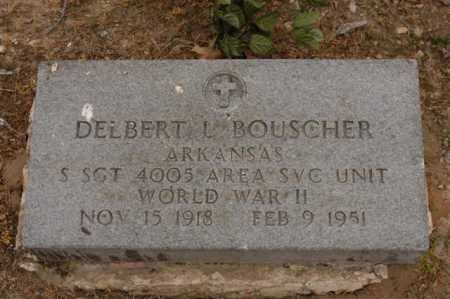 BOUSCHER  (VETERAN WWII), DELBERT - Arkansas County, Arkansas | DELBERT BOUSCHER  (VETERAN WWII) - Arkansas Gravestone Photos