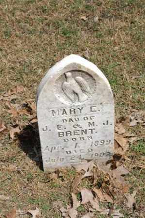 BRENT, MARY E. - Arkansas County, Arkansas | MARY E. BRENT - Arkansas Gravestone Photos