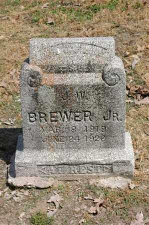 BREWER, JR, J W - Arkansas County, Arkansas | J W BREWER, JR - Arkansas Gravestone Photos