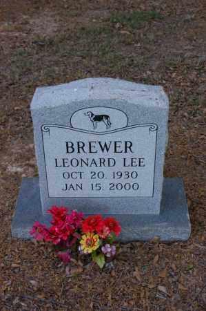 BREWER, LEONARD LEE - Arkansas County, Arkansas | LEONARD LEE BREWER - Arkansas Gravestone Photos