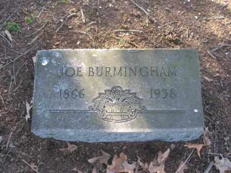 BURMINGHAM, JOE - Arkansas County, Arkansas | JOE BURMINGHAM - Arkansas Gravestone Photos
