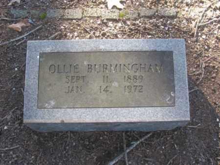 BURMINGHAM, OLLIE - Arkansas County, Arkansas | OLLIE BURMINGHAM - Arkansas Gravestone Photos