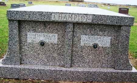 CHAMPION, ANNETTA - Arkansas County, Arkansas | ANNETTA CHAMPION - Arkansas Gravestone Photos