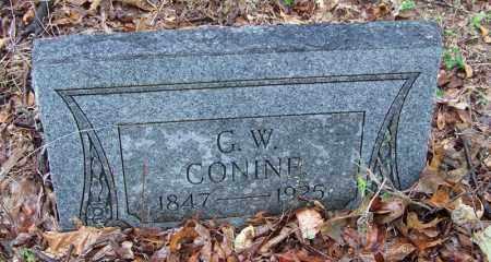 CONINE (VETERAN CSA), GEORGE W - Arkansas County, Arkansas | GEORGE W CONINE (VETERAN CSA) - Arkansas Gravestone Photos