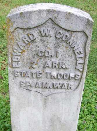 CONNELLY (VETERAN SAW), EDWARD W - Arkansas County, Arkansas   EDWARD W CONNELLY (VETERAN SAW) - Arkansas Gravestone Photos