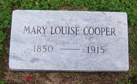 COOPER, MARY LOUISE - Arkansas County, Arkansas | MARY LOUISE COOPER - Arkansas Gravestone Photos