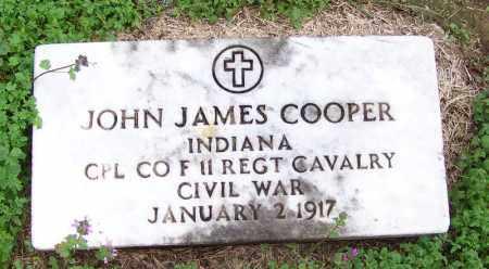 COOPER (VETERAN UNION), JOHN JAMES - Arkansas County, Arkansas | JOHN JAMES COOPER (VETERAN UNION) - Arkansas Gravestone Photos