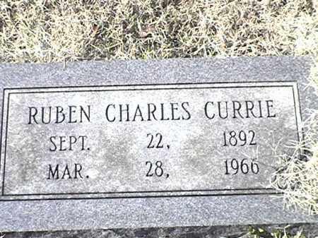 CURRIE, RUBEN CHARLES - Arkansas County, Arkansas   RUBEN CHARLES CURRIE - Arkansas Gravestone Photos